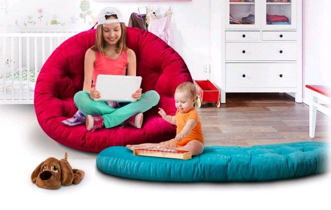 кресло футон детский матрас