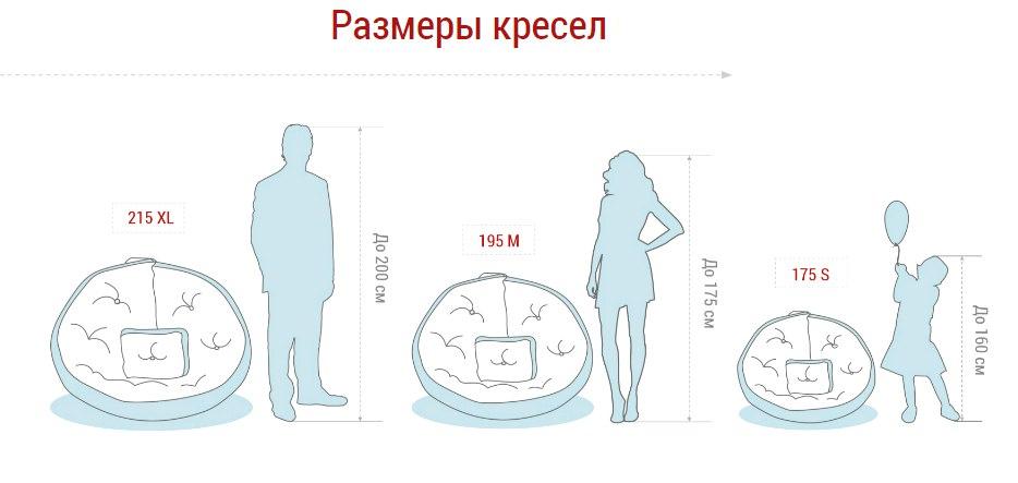 как выбрать размер кресла матраса