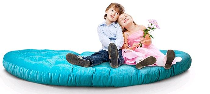 детское кресло футон матрас